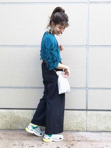 wear #ワイドパンツ