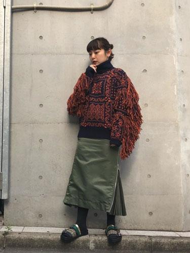 wear #2018AW 袖コンシャス