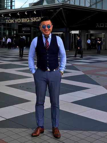 wear 50代男性コーディネート